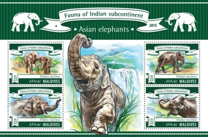 [Fauna of Indian Subcontinent - Asian Elephants, Typ ]