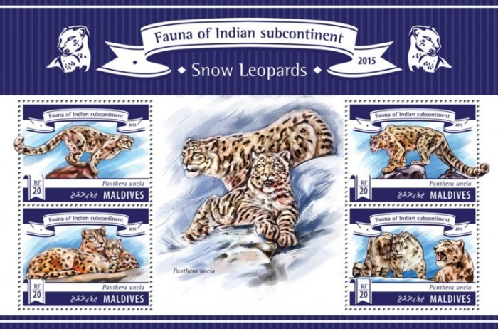 [Fauna of Indian Subcontinent - Snow Leopards, Typ ]