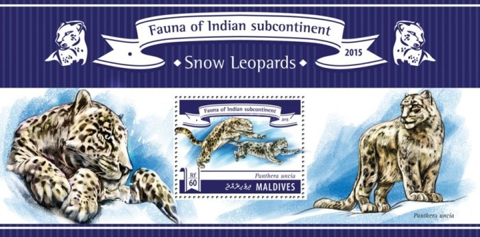 [Fauna of Indian Subcontinent - Snow Leopards, type ]
