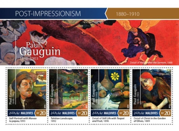 [Paintings - Post-Impressionism - Paul Gauguin, 1848-1903, Typ ]