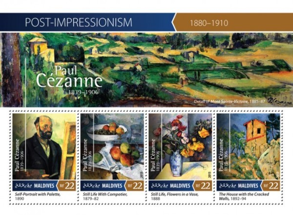 [Paintings - Post-Impressionism - Paul Cezanne, 1839-1906, Typ ]