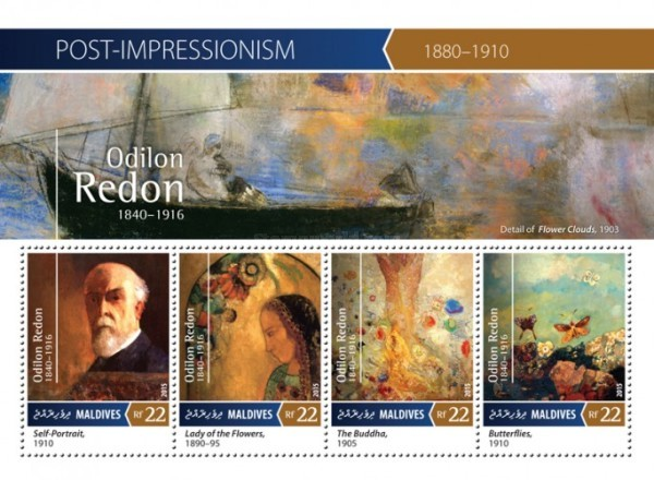 [Paintings - Post-Impressionism - Odilon Redon, 1840-1916, Typ ]
