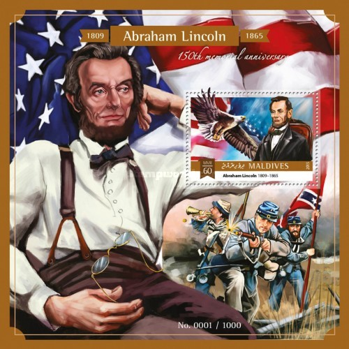 [The 150th Anniversary of the Death of Abraham Lincoln, 1809-1865, Typ ]