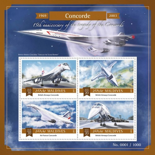 [Transportation - The 15th Anniversary of the Tragedy of the Concorde, Typ ]