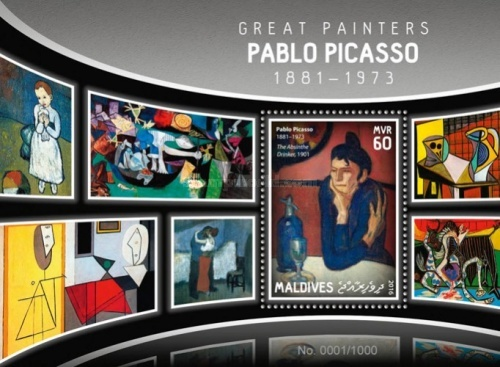 [Paintings - Pablo Picasso, 1881-1973, Typ ]