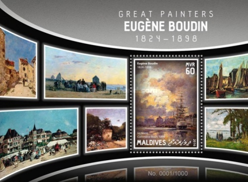 [Paintings - Eugene Boudin, 1824-1898, Typ ]
