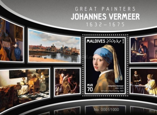 [Paintings - Johannes Vermeer, 1632-1675, Typ ]