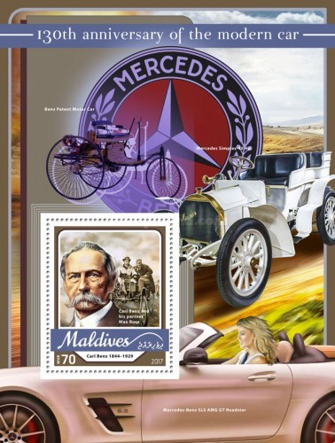 [Transportation - The 130th Anniversary of the Modern Car, Typ ]
