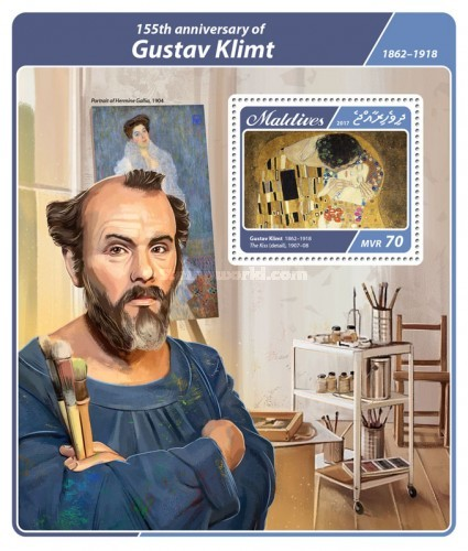 [Paintings - The 155th Anniversary of the Birth of Gustav Klimt, 1862-1918, Typ ]
