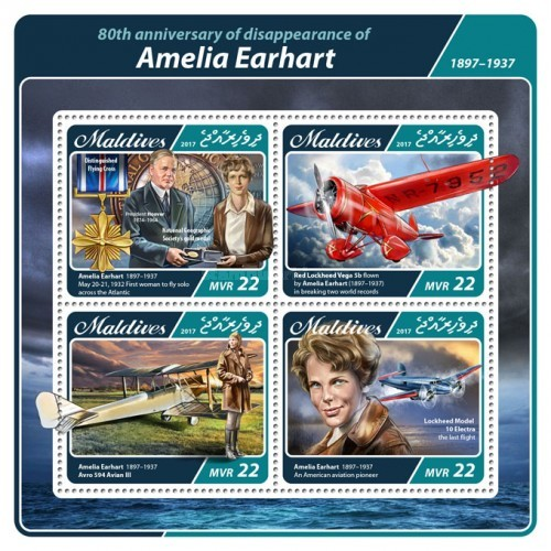 [The 80th Anniversary of the Disappearance of Amelia Earhart, 1897-1937, Typ ]