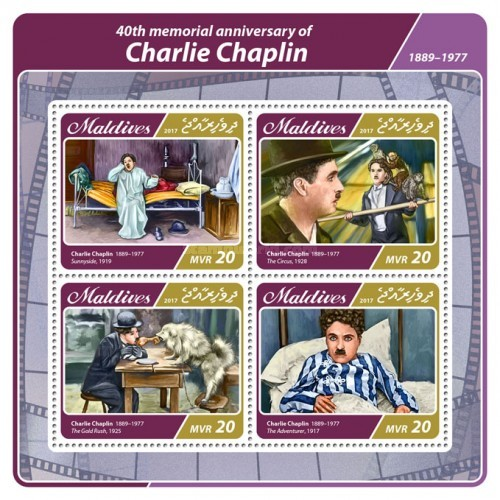 [The 40th Anniversary of the Death of Charlie Chaplin, 1889-1977, Typ ]