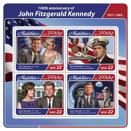[The 100th Anniversary of the Birth of John Fitzgerald Kennedy, 1917-1963, type ]