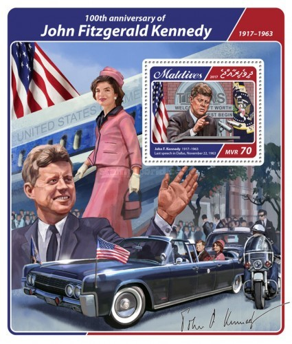 [The 100th Anniversary of the Birth of John Fitzgerald Kennedy, 1917-1963, Typ ]