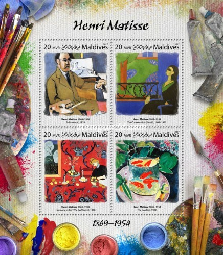 [Paintings - Henri Matisse, 1869-1954, Typ ]