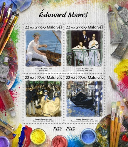[Paintings - Edouard Manet, 1832-1883, Typ ]