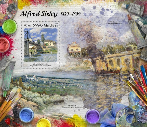 [Paintings - Alfred Sisley, 1839-1899, Typ ]