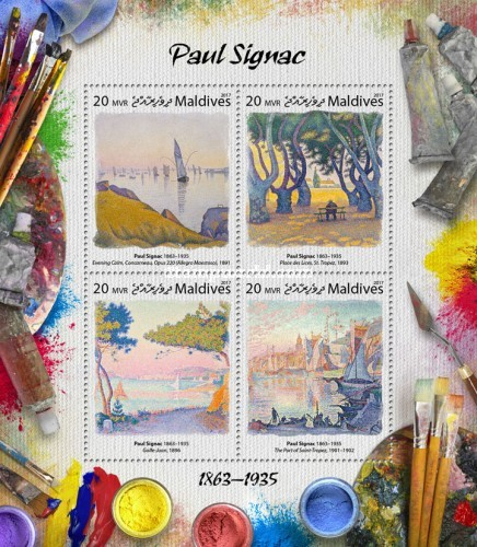 [Paintings - Paul Signac, 1863-1935, type ]