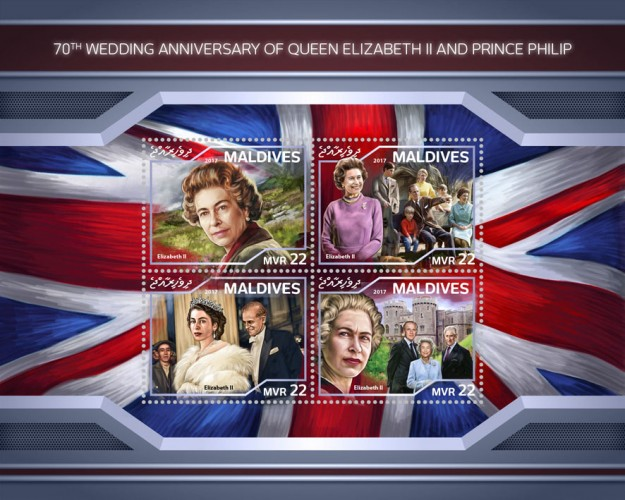 [The 70th Wedding Anniversary of Queen Elizabeth and Prince Philip, Typ ]