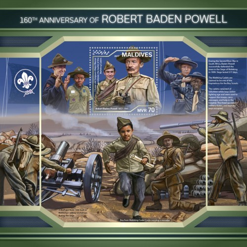 [The 160th Anniversary of the Birth of Robert Baden Powell, 1857-1941, Typ ]