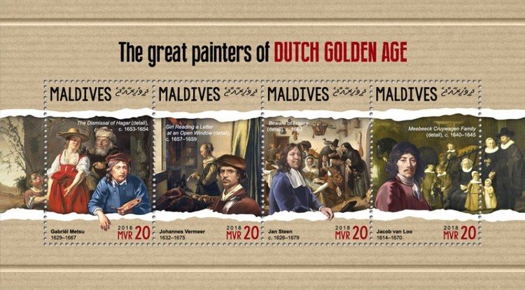 [Paintings - The Great Painters of Dutch Golden Age, Typ ]