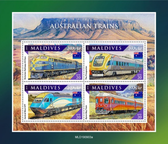[Transportation - Australian Trains, type ]