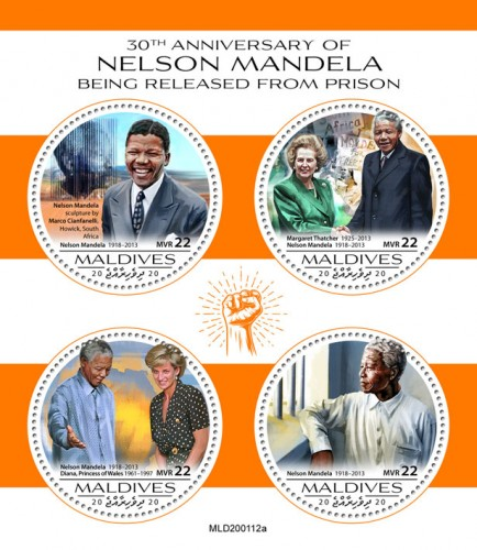 [The 30th Anniversary of the Release from Prison of Nelson Mandela, 1918-2013, type ]