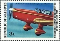 [The 50th Anniversary of Charles Lindbergh's Transatlantic Flight and 75th Anniversary of First Navigable Airships, Typ AAA]