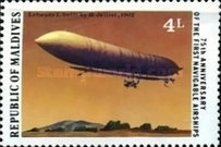 [The 50th Anniversary of Charles Lindbergh's Transatlantic Flight and 75th Anniversary of First Navigable Airships, Typ AAB]