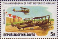 [The 75th Anniversary of First Powered Aircraft, Typ AAZ]