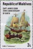 [The 250th Anniversary of the Birth of Captain James Cook and the 200th Anniversary of the Discovery of Hawaiian Islands, Typ ABZ]