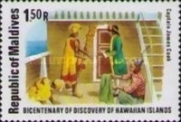 [The 250th Anniversary of the Birth of Captain James Cook and the 200th Anniversary of the Discovery of Hawaiian Islands, Typ ACC]