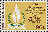 [The 30th Anniversary of Declaration of Human Rights, Typ ADF]
