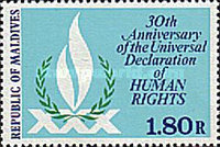 [The 30th Anniversary of Declaration of Human Rights, Typ ADG]
