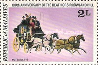 [The 100th Anniversary of the Death of Sir Rowland Hill, Typ ADQ]