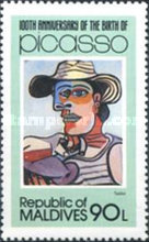 [The 100th Anniversary of the Birth of Pablo Picasso, 1881-1973, Typ AII]