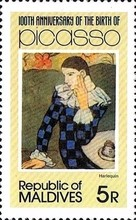 [The 100th Anniversary of the Birth of Pablo Picasso, 1881-1973, Typ AIK]