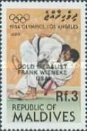 [Olympic Games Gold Medal Winners - Los Angeles, USA - Issues of 1984 Overprinted, Typ AOS]