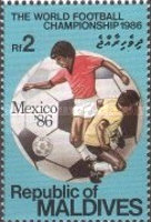 [Football World Cup - Mexico 1986, Typ ARZ]