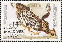[Birds - The 200th Anniversary of the Birth of John James Audubon, type ASY]