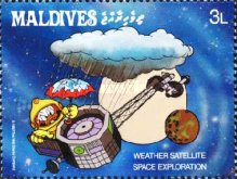 [Space Exploration - Walt Disney Cartoon Characters, Typ AWQ]