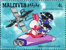 [Space Exploration - Walt Disney Cartoon Characters, Typ AWR]