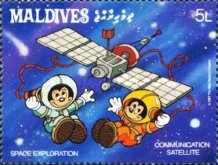 [Space Exploration - Walt Disney Cartoon Characters, Typ AWS]