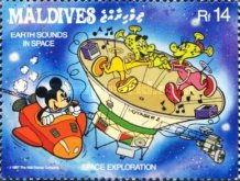 [Space Exploration - Walt Disney Cartoon Characters, Typ AWW]