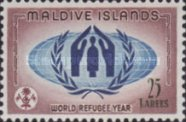 [World Refugee Year, type AX]