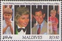 [The 10th Anniversary of the Royal Wedding of Prince Charles and Princess Diana, Typ BHB]