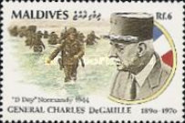 [The 100th Anniversary of the Birth of Charles de Gaulle, 1890-1970, Typ BKB]