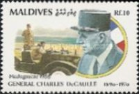 [The 100th Anniversary of the Birth of Charles de Gaulle, 1890-1970, Typ BKC]