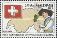 [The 700th Anniversary of Swiss Confederation, Typ BKX]