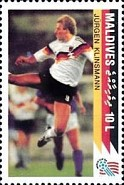 [The German National Team Winning the 1990 Football World Cup in Italy, Typ BOW]
