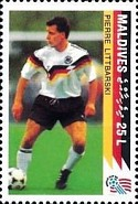 [The German National Team Winning the 1990 Football World Cup in Italy, Typ BOX]